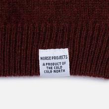 Мужской свитер Norse Projects Sigfred Lambswool Red Clay фото- 3