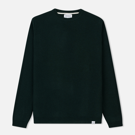 Мужской свитер Norse Projects Sigfred Lamsbwool Racked Moss