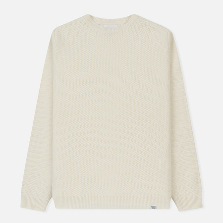 Мужской свитер Norse Projects Sigfred Lamsbwool Racked White