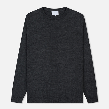 Мужской свитер Norse Projects Sigfred Merino Charcoal Melange