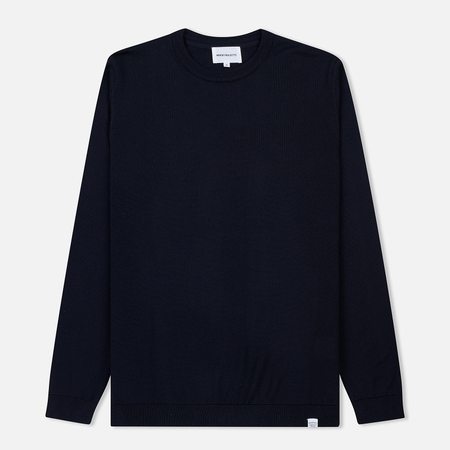 Мужской свитер Norse Projects Sigfred Merino Dark Navy