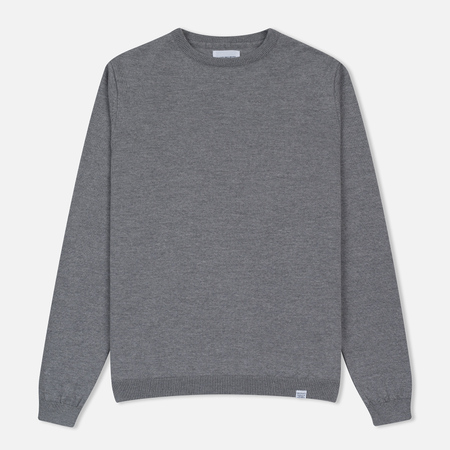 Мужской свитер Norse Projects Sigfred Merino Light Grey Melange