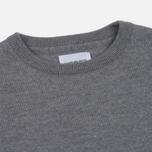 Мужской свитер Norse Projects Sigfred Merino Light Grey Melange фото- 1