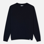 Мужской свитер Norse Projects Sigfred Merino Navy фото- 0