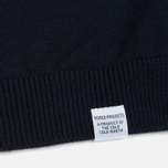 Мужской свитер Norse Projects Sigfred Merino Navy фото- 3