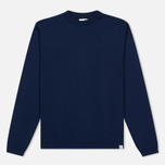 Мужской свитер Norse Projects Sigfred Merino Principle Blue фото- 0