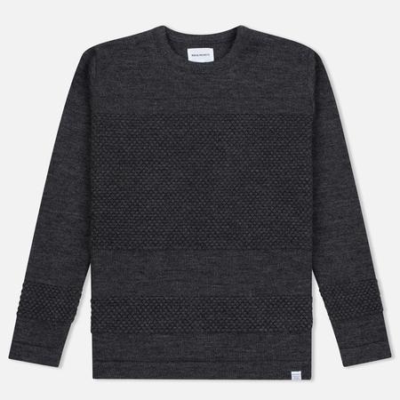 Norse Projects Skagen Wool Men's Sweater Charcoal