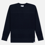 Мужской свитер Norse Projects Skagen Wool Navy фото- 0