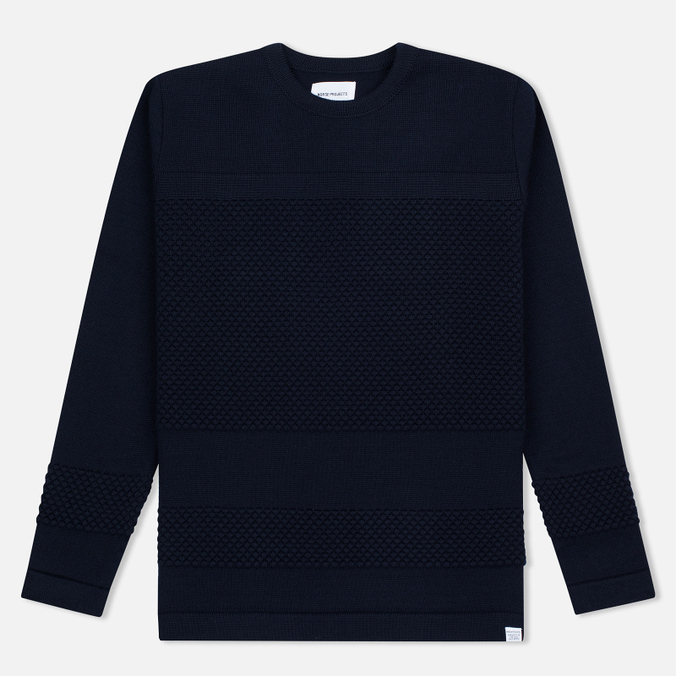 Мужской свитер Norse Projects Skagen Wool Navy
