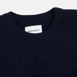 Мужской свитер Norse Projects Skagen Wool Navy фото- 1