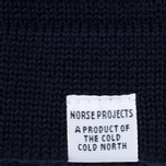 Мужской свитер Norse Projects Skagen Wool Navy фото- 3