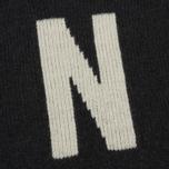 Мужской свитер Norse Projects Thore N Intarsia Charcoal Melange фото- 2