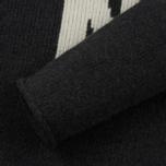 Мужской свитер Norse Projects Thore N Intarsia Charcoal Melange фото- 3