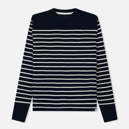 Мужской свитер Norse Projects Verner Normandy Navy/Ecru