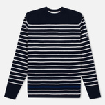 Мужской свитер Norse Projects Verner Pure New Wool Navy фото- 0