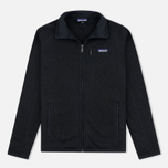 Мужской свитер Patagonia Better Fleece Zip Black фото- 0