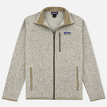 Мужской свитер Patagonia Better Fleece Zip Bleached Stone фото- 0