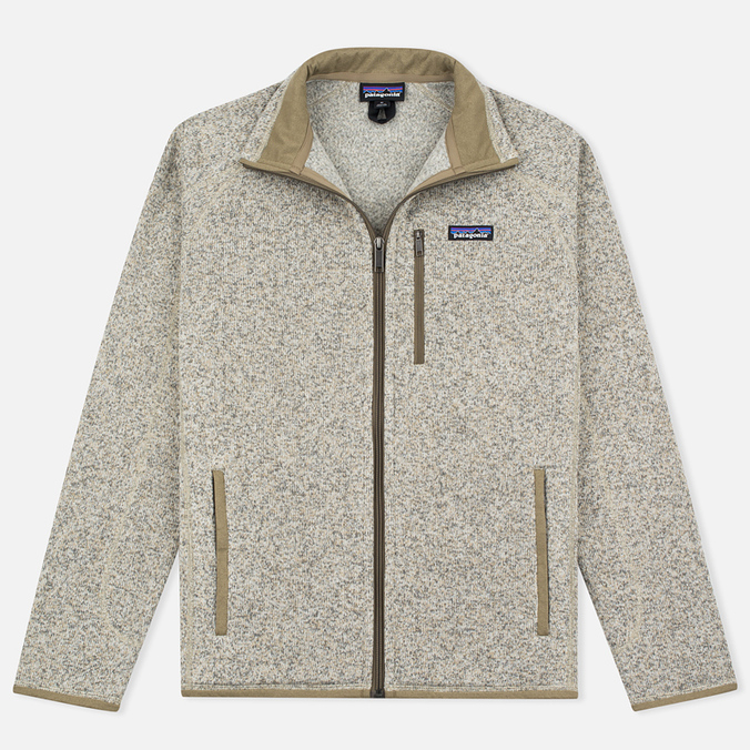 Мужской свитер Patagonia Better Fleece Zip Bleached Stone