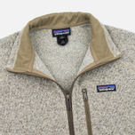 Мужской свитер Patagonia Better Fleece Zip Bleached Stone фото- 1