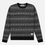 Мужской свитер Penfield Duntara Fairisle Crew Black фото- 0
