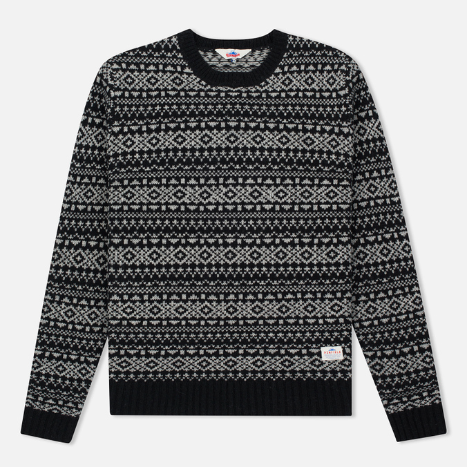 Мужской свитер Penfield Duntara Fairisle Crew Black
