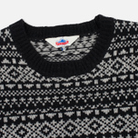 Мужской свитер Penfield Duntara Fairisle Crew Black фото- 1