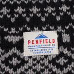 Мужской свитер Penfield Duntara Fairisle Crew Black фото- 3