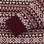Мужской свитер Penfield Duntara Fairisle Crew Red фото- 2