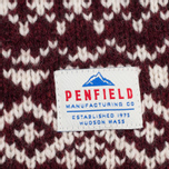 Мужской свитер Penfield Duntara Fairisle Crew Red фото- 3