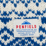 Мужской свитер Penfield Duntara Fairisle Crew White фото- 3