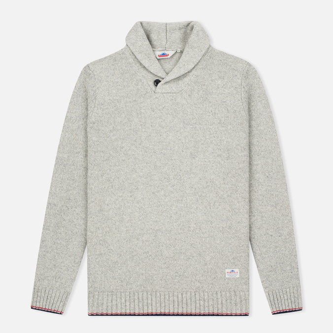 Мужской свитер Penfield Harlington Two Tone Melange Shawl Grey