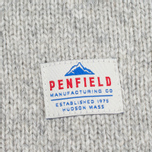 Penfield Harlington Two Tone Melange Men's Sweater Shawl Grey photo- 3