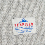 Мужской свитер Penfield Harlington Two Tone Melange Shawl Grey фото- 3
