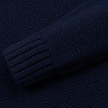 Мужской свитер Polo Ralph Lauren Classic Logo Cotton Crew Neck Hunter Navy фото- 3