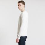 Мужской свитер Polo Ralph Lauren Classic Logo Cotton Crew Neck White фото- 3
