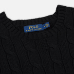 Мужской свитер Polo Ralph Lauren Crew Neck Cable Knit Black фото- 1