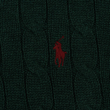 Мужской свитер Polo Ralph Lauren Crew Neck Cable Knit Scotch Pine Heather фото- 2