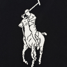 Мужской свитер Polo Ralph Lauren Loryelle Wool Big Polo Pony Black/Cream фото- 2