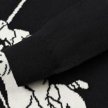 Мужской свитер Polo Ralph Lauren Loryelle Wool Big Polo Pony Black/Cream фото- 3