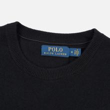 Мужской свитер Polo Ralph Lauren Loryelle Wool Big Polo Pony Black/Cream фото- 1