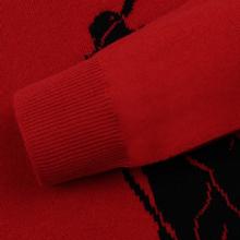 Мужской свитер Polo Ralph Lauren Loryelle Wool Big Polo Pony Park Ave Red/Black фото- 3