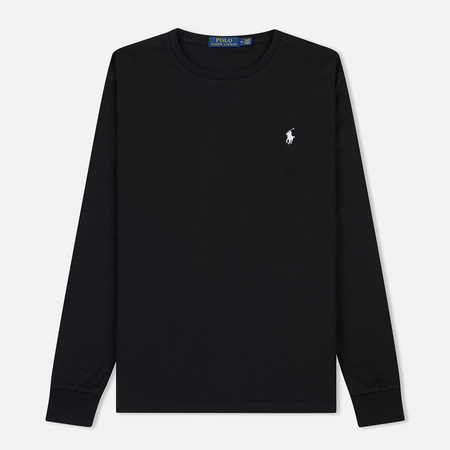 Мужской лонгслив Polo Ralph Lauren Pima Soft Touch Black