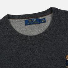 Мужской свитер Polo Ralph Lauren Polo Bear Merino Wool Dark Charcoal Heather фото- 1