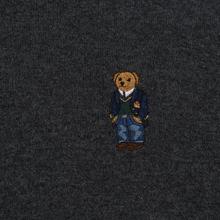 Мужской свитер Polo Ralph Lauren Polo Bear Merino Wool Dark Charcoal Heather фото- 2