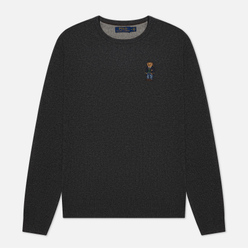 Мужской свитер Polo Ralph Lauren Polo Bear Merino Wool Dark Charcoal Heather