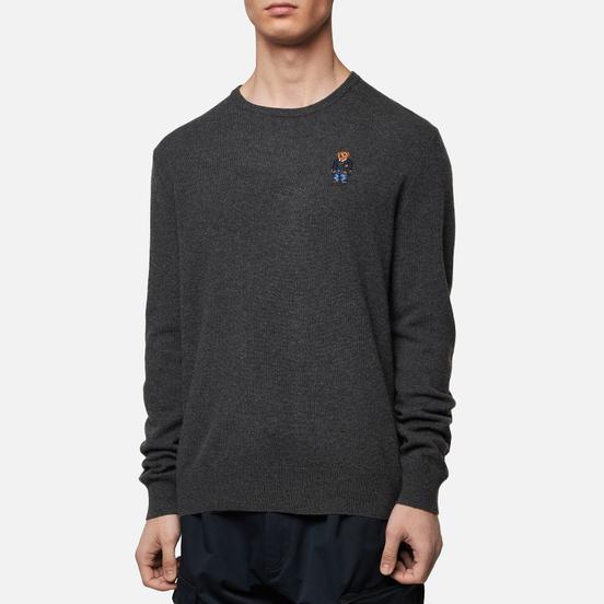 Мужской свитер Polo Ralph Lauren Polo Bear Merino Wool Dark Charcoal Heather