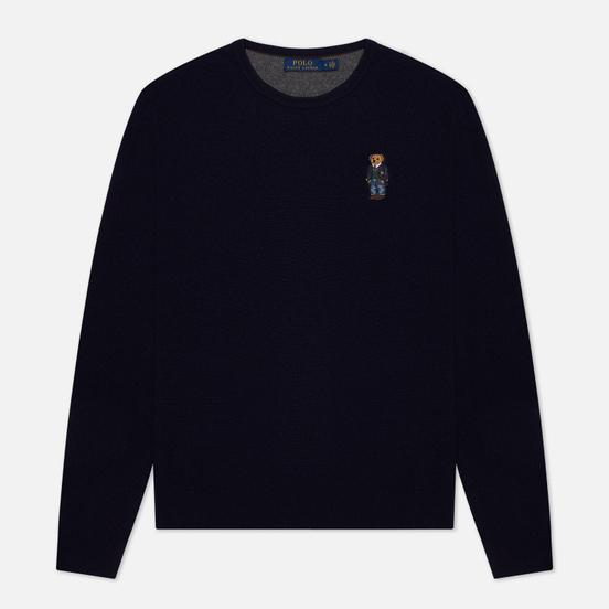 Мужской свитер Polo Ralph Lauren Polo Bear Merino Wool Hunter Navy