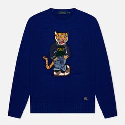 Мужской свитер Polo Ralph Lauren Polo Tiger Cotton Heritage Royal