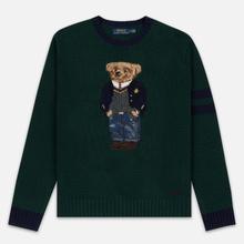 Мужской свитер Polo Ralph Lauren Preppy Bear Wool Blend Forrest Green фото- 0