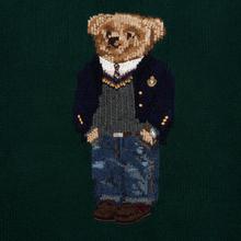 Мужской свитер Polo Ralph Lauren Preppy Bear Wool Blend Forrest Green фото- 2